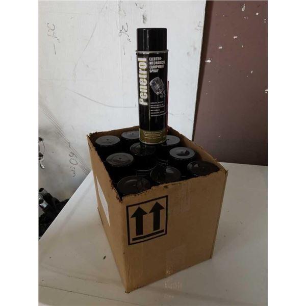 Box of new electromechanical aerosol spray