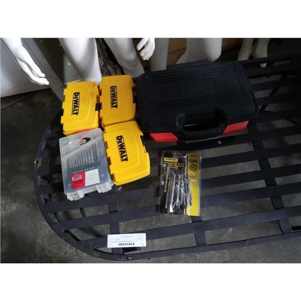 Skil bit set and other screw driver and drill bits