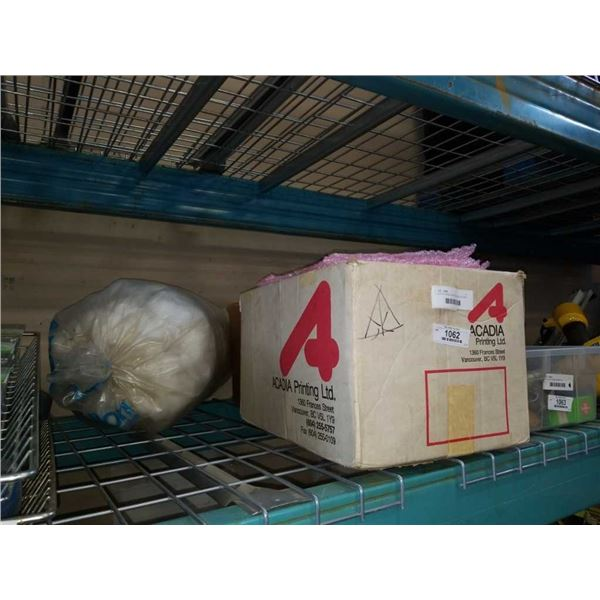 LOT OF BUBBLE WRAP BAGS AND PACKING MATERIAL