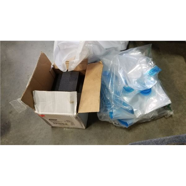 Vacuum bags, sanding blocks and more