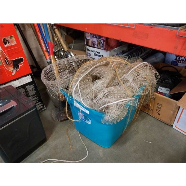 Tote of large netting