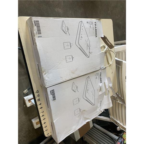 2 IKEA INDUCTION HOT PLATES