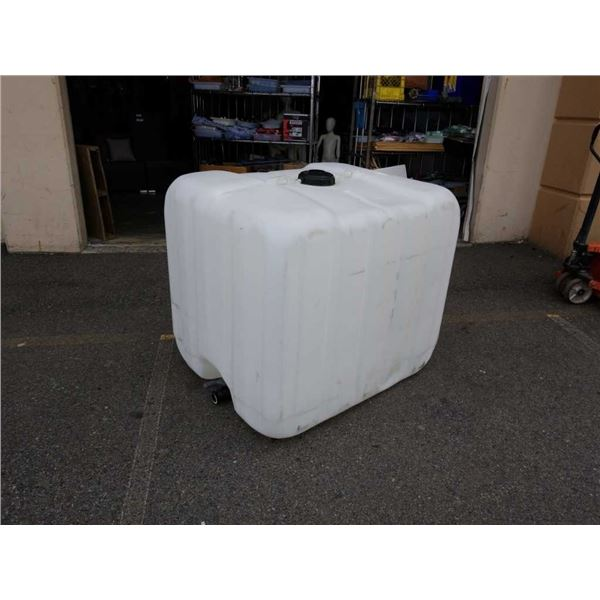 1000 liter food grade plastic container washed
