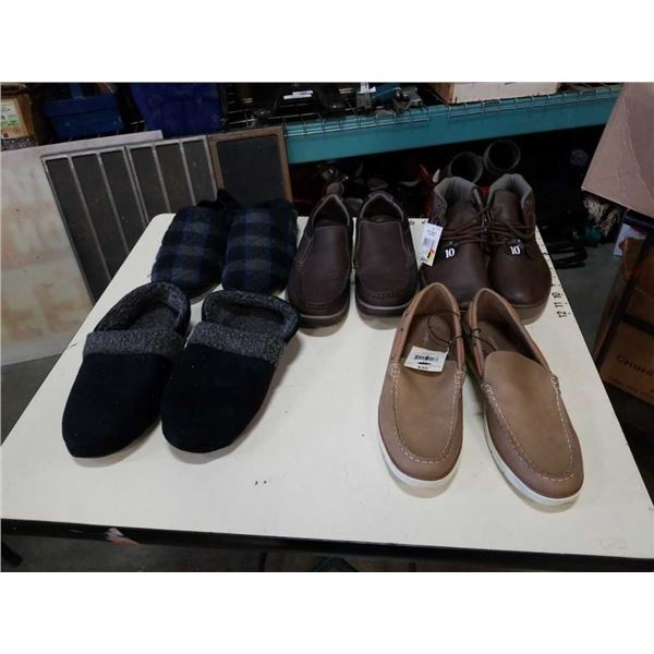 5 pairs of shoes size 10 and 11 men's comfort