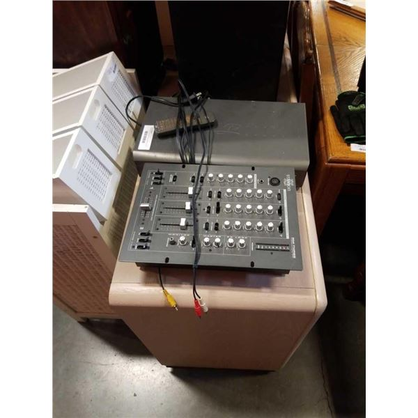 Staton RM-THREE professional stereo mixer and DVD player