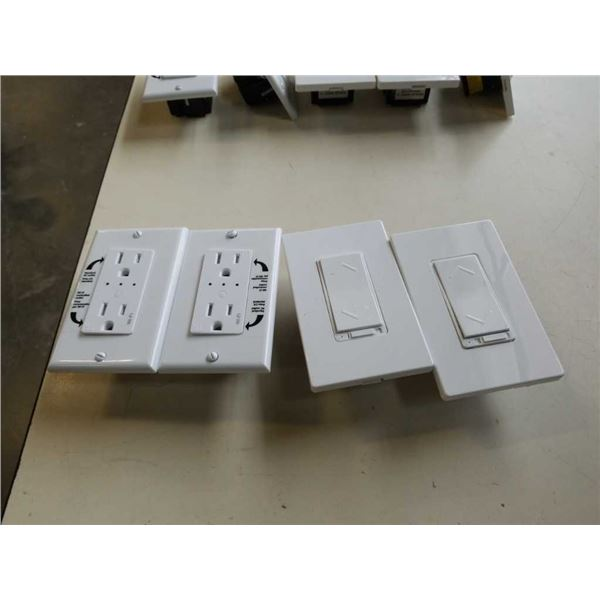 Lot of WIFI smart outlets and switches
