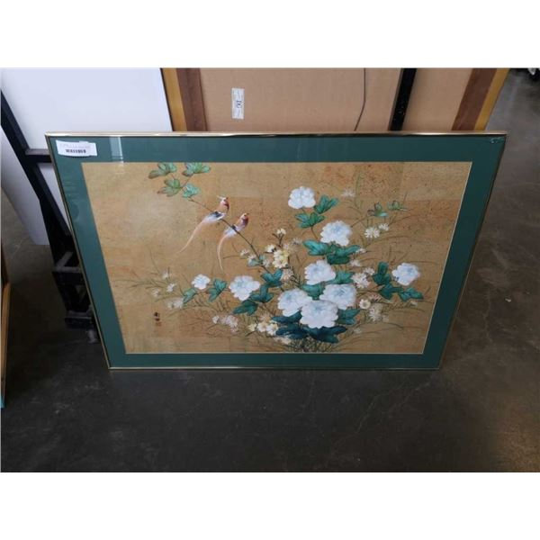 EASTERN PAINTING, BIRDS AND FLOWERS