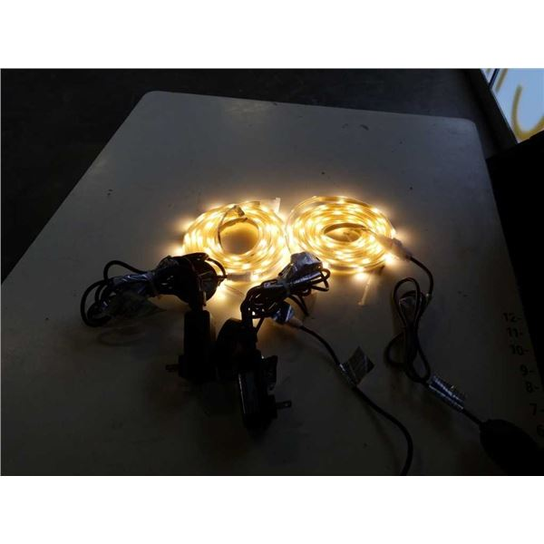 2 - 16 foot strands of Wi-Fi controlled lights