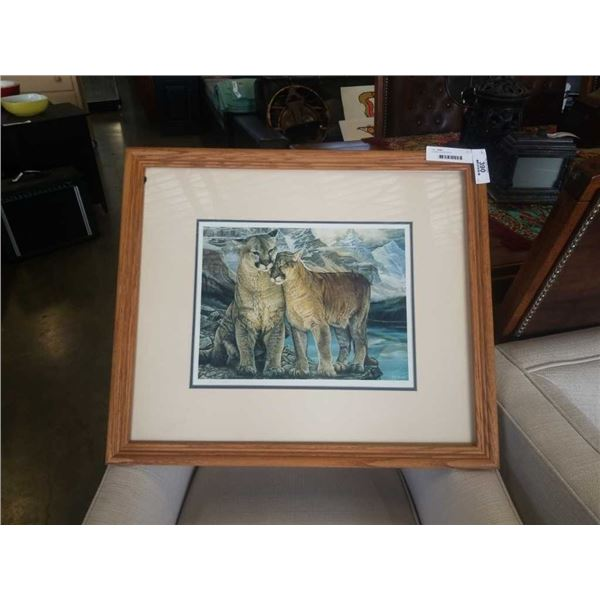 FRAMED SIGNED PRINT