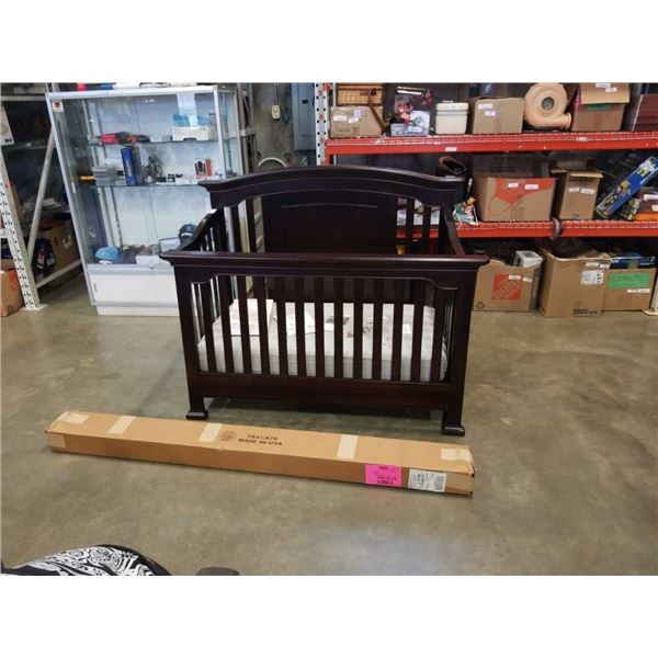 KINGSLEY BRUNSWICK CRIB WITH TODDLER BED CONVERSION FROM BUY BUY BABY