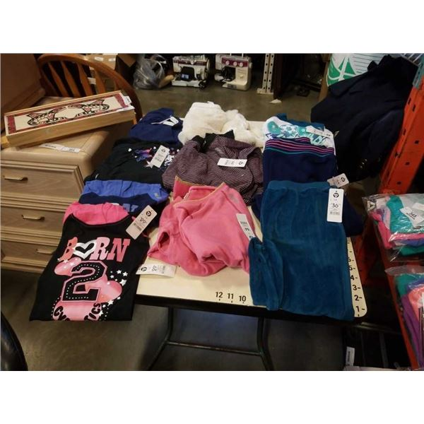 Lot of brand new size teen 14 clothing