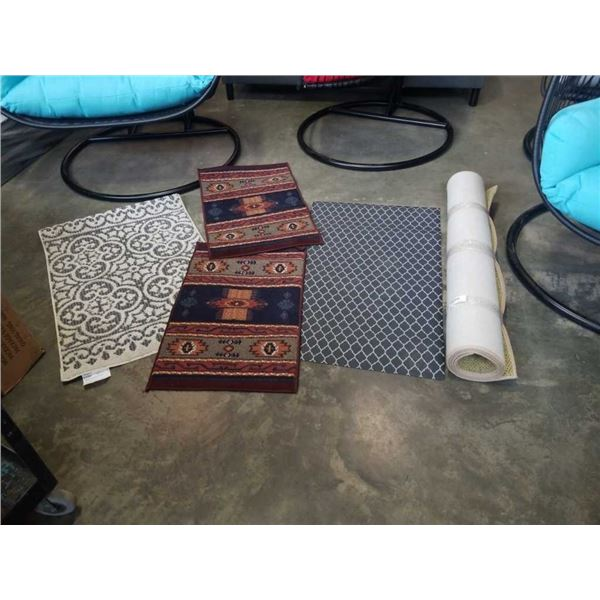 3 AS NEW CARPET RUNNERS AND CARPET