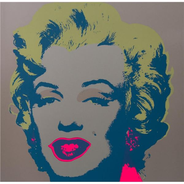 "Andy Warhol- Silk Screen ""Marilyn Monroe 11.26"""