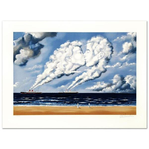 "Rafal Olbinski- Hand Pulled Original Lithograph ""Charismatic Impulse"""