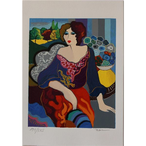 "Patricia Govezensky- Original Serigraph on Paper ""Margo"""