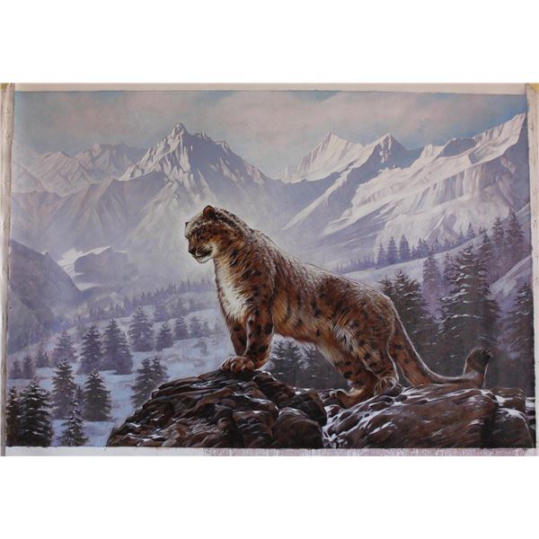 "Sergey Goncharenko- Original Oil on Canvas ""On the Mountain"""