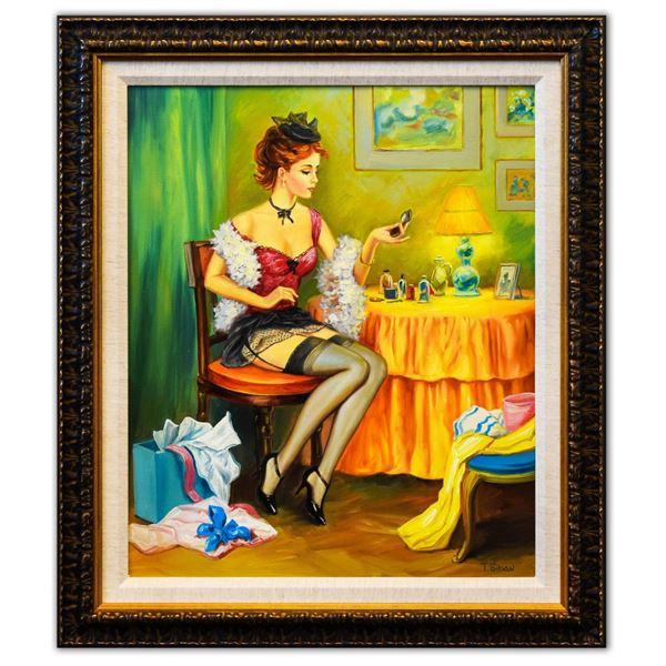 "Taras Sidan- Original Oil on Canvas ""Carla"""