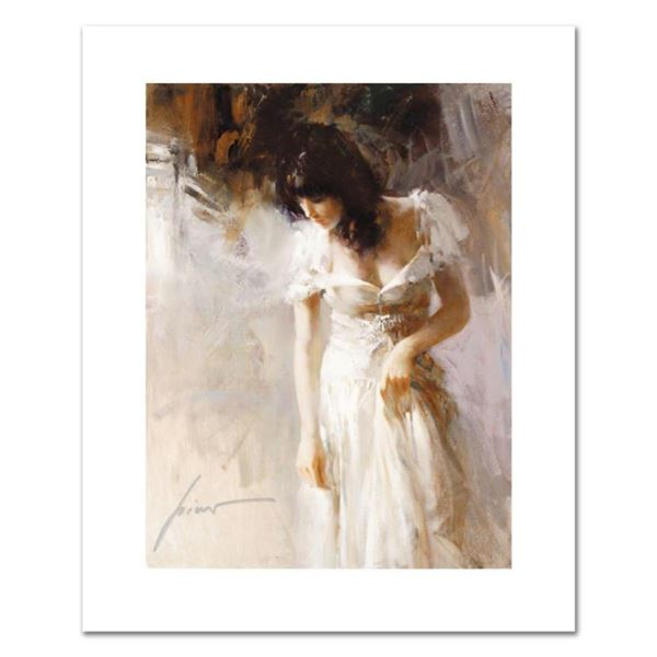 """Pino (1931-2010), """"White Rhapsody"""" Limited Edition on Canvas, Numbered and Hand Signed with Certific"""