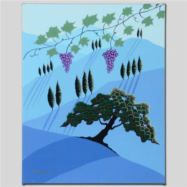 """""""Tuscany"""" Limited Edition Giclee on Canvas by Larissa Holt, Numbered and Signed. This piece comes Ga"""