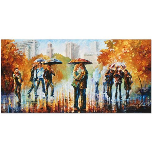"""Leonid Afremov (1955-2019) """"Simple Times"""" Limited Edition Giclee on Canvas, Numbered and Signed. Thi"""
