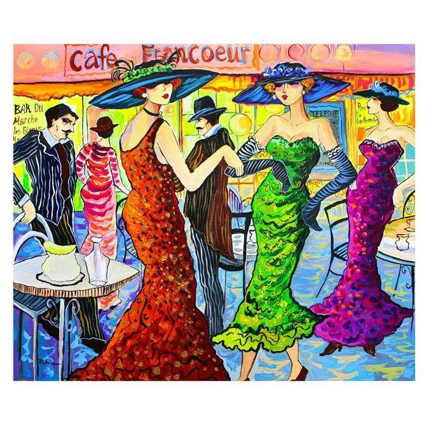 "Patricia Govezensky- Original Acrylic on Canvas ""Friendship"""