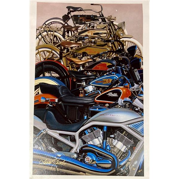 """Scott Jacobs- Original Giclee on Canvas """"100 Years"""""""