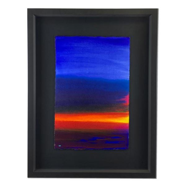 """Wyland, """"Natural Color 2"""" Hand Signed Original Painting with Certificate of Authenticity."""