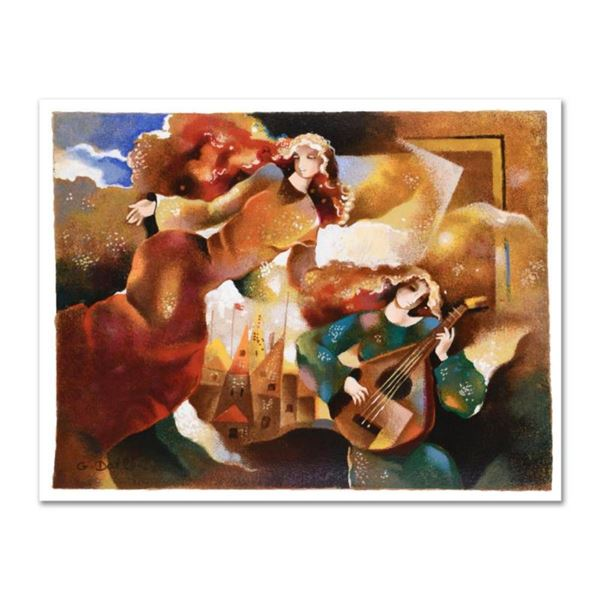 """Galina Datloof, """"Tranquil Moment"""" Limited Edition Serigraph, Numbered and Hand Signed with Certifica"""