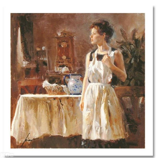 """Pino (1939-2010) """"Sunday Chores"""" Limited Edition Giclee. Numbered and Hand Signed; Certificate of Au"""