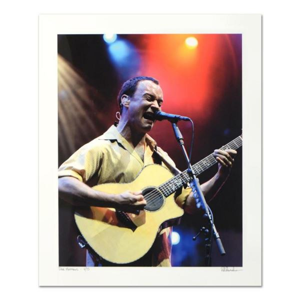 "Rob Shanahan, ""Dave Matthews"" Hand Signed Limited Edition Giclee with Certificate of Authenticity."