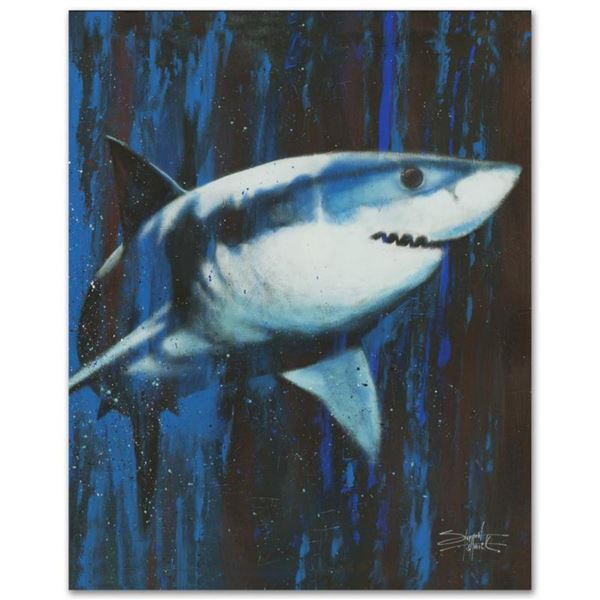 """Silent Killer"" Limited Edition Giclee on Canvas by Stephen Fishwick, Numbered and Signed. This piec"