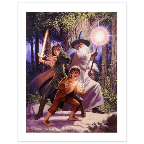 """Arwen Joins The Quest"" Limited Edition Giclee on Canvas by The Brothers Hildebrandt. Numbered and H"