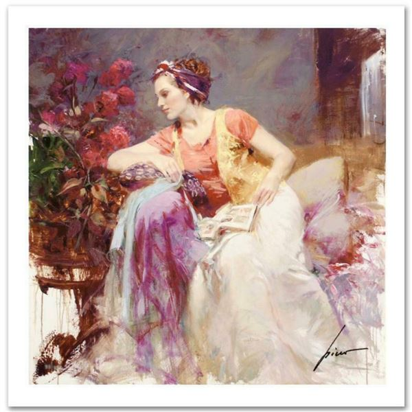 "Pino (1939-2010) ""Serendipity"" Limited Edition Giclee. Numbered and Hand Signed; Certificate of Auth"