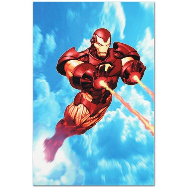 "Marvel Comics ""Iron Man: Iron Protocols #1"" Numbered Limited Edition Giclee on Canvas by Ariel Olive"