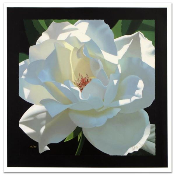 """Rose in the Shadows"" Limited Edition Giclee on Canvas by Brian Davis, Numbered and Hand Signed with"