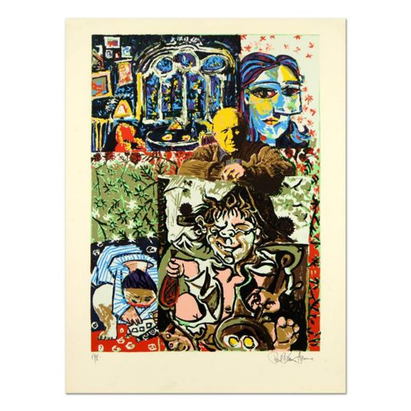 "Paul Blaine Henrie (1932-1999), ""Henri Picasso"" Limited Edition Serigraph from an AP Edition, Hand S"
