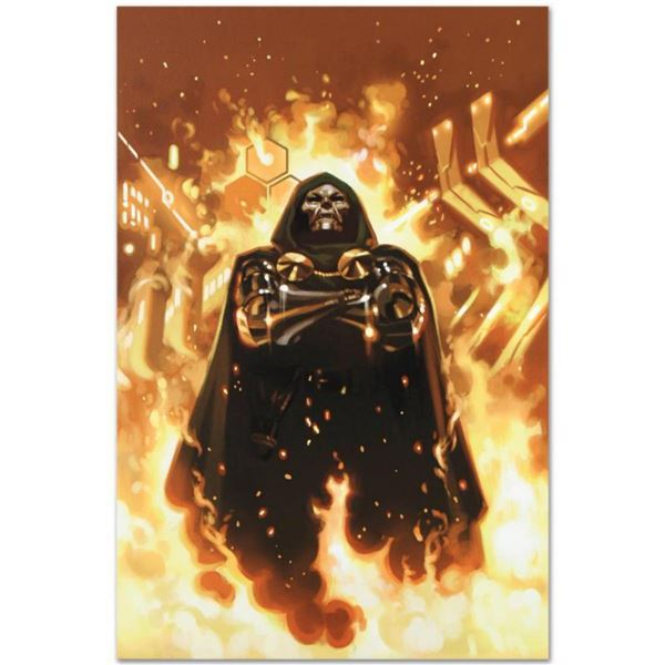 """Marvel Comics """"FF #2"""" Numbered Limited Edition Giclee on Canvas by Daniel Acuna with COA."""