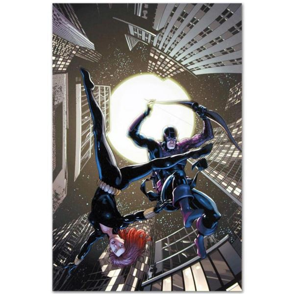 """Marvel Comics """"Marvel Adventure Super Heroes #17"""" Numbered Limited Edition Giclee on Canvas by Barry"""