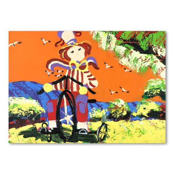 """Paul Blaine Henrie (1932-1999), """"The Swinger"""" Hand Signed Original Painting on Canvas (36""""x48"""") with"""