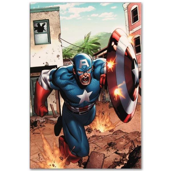 """Marvel Comics """"Marvel Adventures: Super Heroes #8"""" Numbered Limited Edition Giclee on Canvas by Clay"""