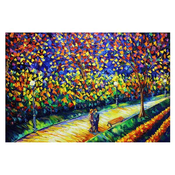 """Svyatoslav Shyrochuk- Original Oil on Canvas """"Our First Date"""""""