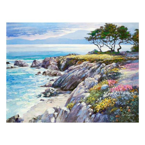 """Howard Behrens (1933-2014), """"Monterey Bay, After The Rain"""" Limited Edition on Canvas, Numbered and S"""