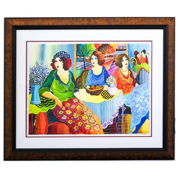 "Patricia Govezensky- Original Watercolor ""Memory"""