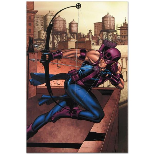 """Marvel Comics """"Marvel Adventures Super Heroes #14"""" Numbered Limited Edition Giclee on Canvas by Davi"""