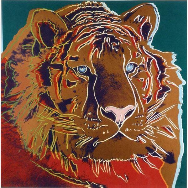 "Andy Warhol- Screenprint in colors ""Siberian Tiger"""