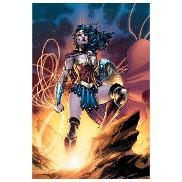 """DC Comics, """"Wonder Woman 75th Anniversary Special #1"""" Numbered Limited Edition Giclee on Canvas by J"""