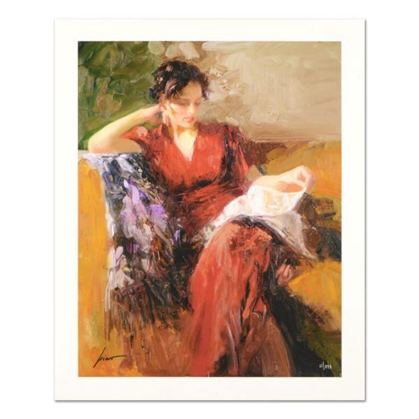 """Pino (1939-2010) """"Resting Time"""" Limited Edition Giclee. Numbered and Hand Signed; Certificate of Aut"""