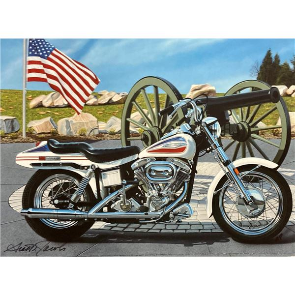 "Scott Jacobs- Original Giclee on Canvas ""Battlefield"""