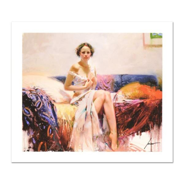 """Pino (1939-2010) """"Sweet Sensation"""" Limited Edition Giclee. Numbered and Hand Signed; Certificate of"""