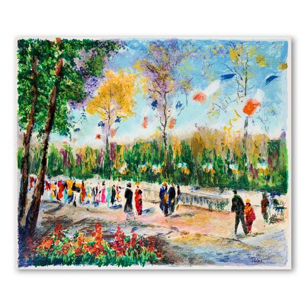 "Dimitri Polak (1922-2008), ""Like a Parisian Celebration"" Hand Signed Limited Edition Serigraph on Pa"